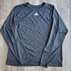 Adidas Climalite Black Top Sz Lg